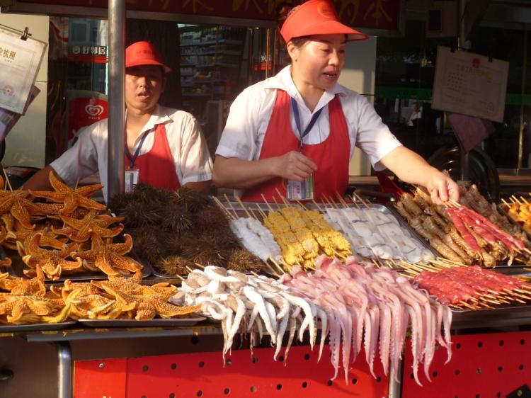 Beijing food street
